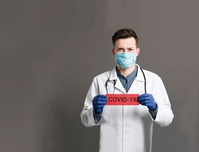 Safety protocols in a medical office